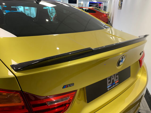 M4 Rear Carbon Boot Spoiler CS Style