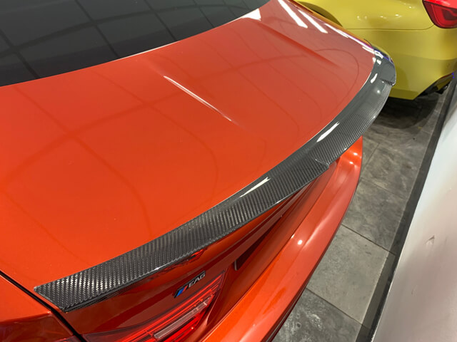 M4 Rear Carbon Boot Spoiler M Style