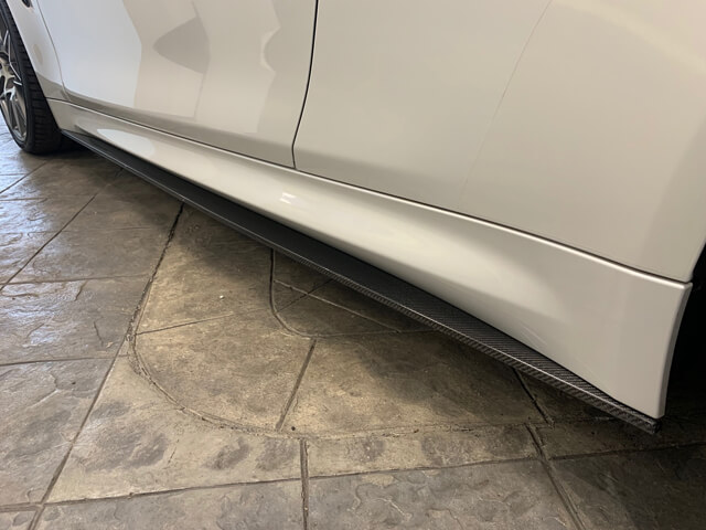 M4 Side Skirts Carbon